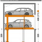 MultiBase 2072i 220 - Sistem de parcare hidraulic - MultiBase 2072i