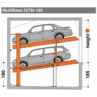 MultiBase 2078i 180 - Sistem de parcare hidraulic - MultiBase 2078i