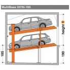 MultiBase 2078i 185 - Sistem de parcare hidraulic - MultiBase 2078i
