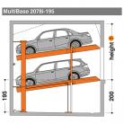 MultiBase 2078i 195 - Sistem de parcare hidraulic - MultiBase 2078i