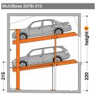 MultiBase 2078i 215 - Sistem de parcare hidraulic - MultiBase 2078i