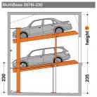 MultiBase 2078i 230 - Sistem de parcare hidraulic - MultiBase 2078i