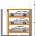 MultiBase U3 Sisteme de parcare hidraulice subterane - MultiBase Underfloor