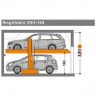 SingleVario 2061 160 - Sistem de parcare hidraulic - SingleVario 2061
