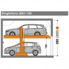 SingleVario 2061 190 - Sistem de parcare hidraulic - SingleVario 2061
