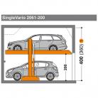 SingleVario 2061 200 - Sistem de parcare hidraulic - SingleVario 2061