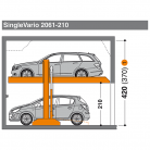 SingleVario 2061 210 - Sistem de parcare hidraulic - SingleVario 2061