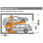 SingleUp 2015 155 - 290 - Sistem de parcare hidraulic - SingleUp 2015