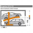 SingleUp 2015 170 - 305 - Sistem de parcare hidraulic - SingleUp 2015