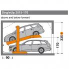 SingleUp 2015 170 - 335 - Sistem de parcare hidraulic - SingleUp 2015