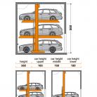SingleUp 3015 560 - Sistem de parcare hidraulic - SingleUp 3015