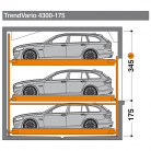 TrendVario 4300 175 - 345 - Sistem de parcare semi-automat - TrendVario 4300