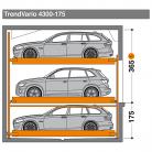 TrendVario 4300 175 - 365 - Sistem de parcare semi-automat - TrendVario 4300