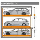 TrendVario 4300 175 - 380 - Sistem de parcare semi-automat - TrendVario 4300