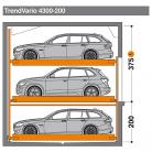 TrendVario 4300 200 - 375 - Sistem de parcare semi-automat - TrendVario 4300