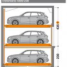 TrendVario 4300 230 - 435 - Sistem de parcare semi-automat - TrendVario 4300