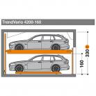 TrendVario 4200 160 - Sistem de parcare semi-automat - TrendVario 4200
