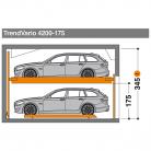TrendVario 4200 175 - Sistem de parcare semi-automat - TrendVario 4200
