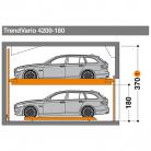 TrendVario 4200 180 - Sistem de parcare semi-automat - TrendVario 4200