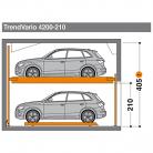 TrendVario 4200 210 - Sistem de parcare semi-automat - TrendVario 4200
