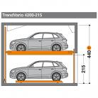 TrendVario 4200 215 - Sistem de parcare semi-automat - TrendVario 4200