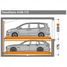 TrendVario 4100 175 - Sistem de parcare semi-automat - TrendVario 4100