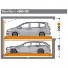 TrendVario 4100 200 - Sistem de parcare semi-automat - TrendVario 4100