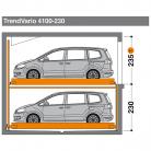 TrendVario 4100 230 - Sistem de parcare semi-automat - TrendVario 4100
