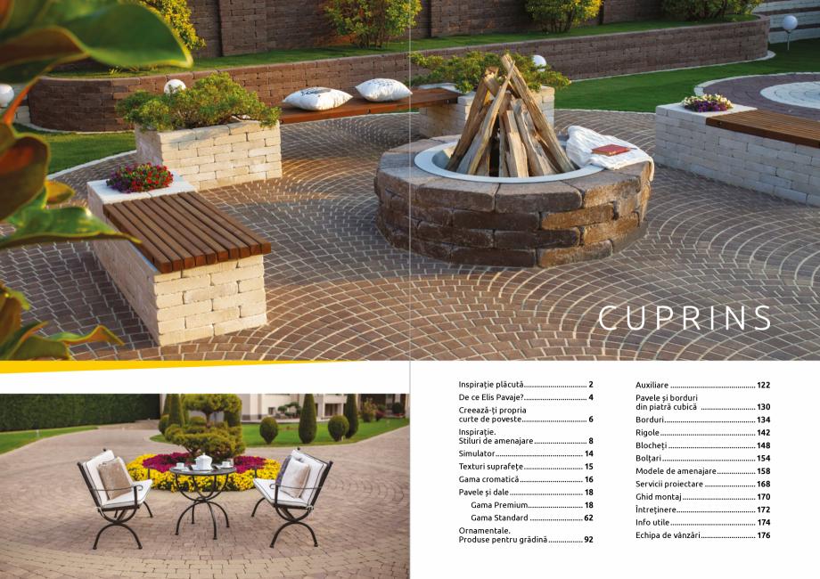 Pagina 2 - Catalog de produse si idei de amenajare 2020-2021  - Rigole din beton compact pentru zone...