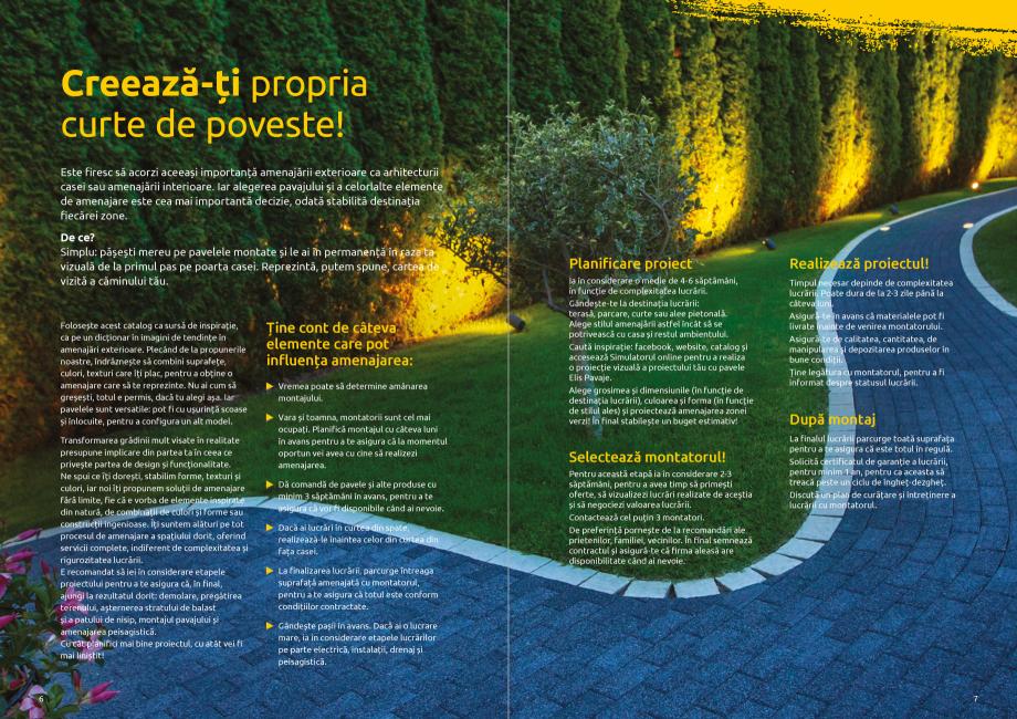 Pagina 5 - Catalog de produse si idei de amenajare 2020-2021  - Rigole din beton compact pentru zone...