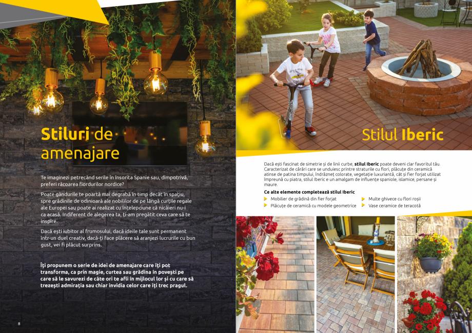 Pagina 6 - Catalog de produse si idei de amenajare 2020-2021  - Rigole din beton compact pentru zone...