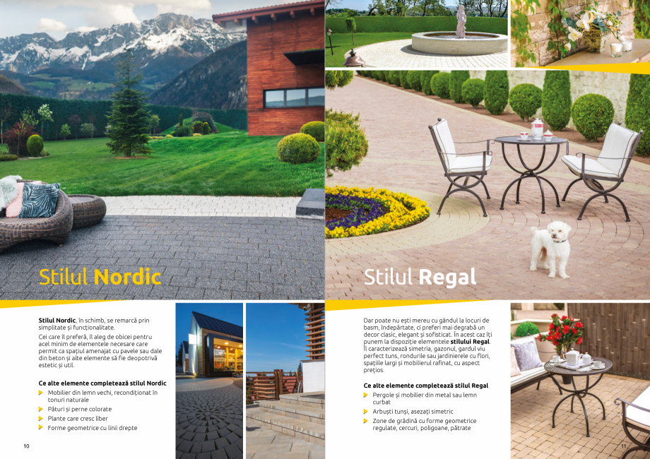 Pagina 7 - Catalog de produse si idei de amenajare 2020-2021  - Rigole din beton compact pentru zone...