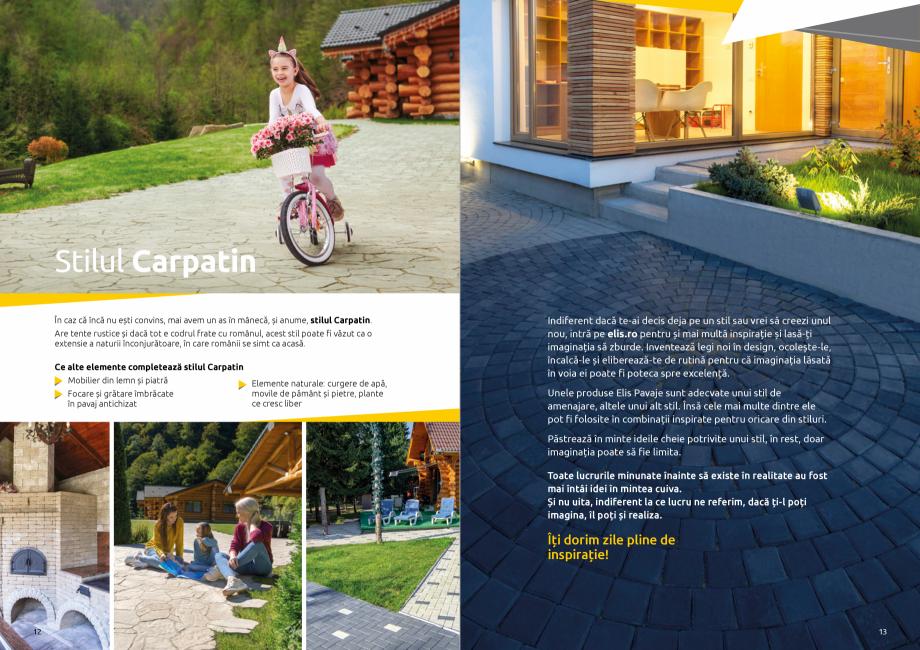 Pagina 8 - Catalog de produse si idei de amenajare 2020-2021  - Rigole din beton compact pentru zone...