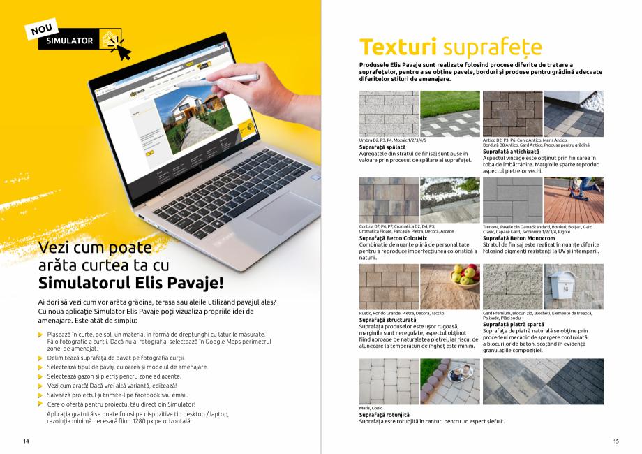 Pagina 9 - Catalog de produse si idei de amenajare 2020-2021  - Rigole din beton compact pentru zone...