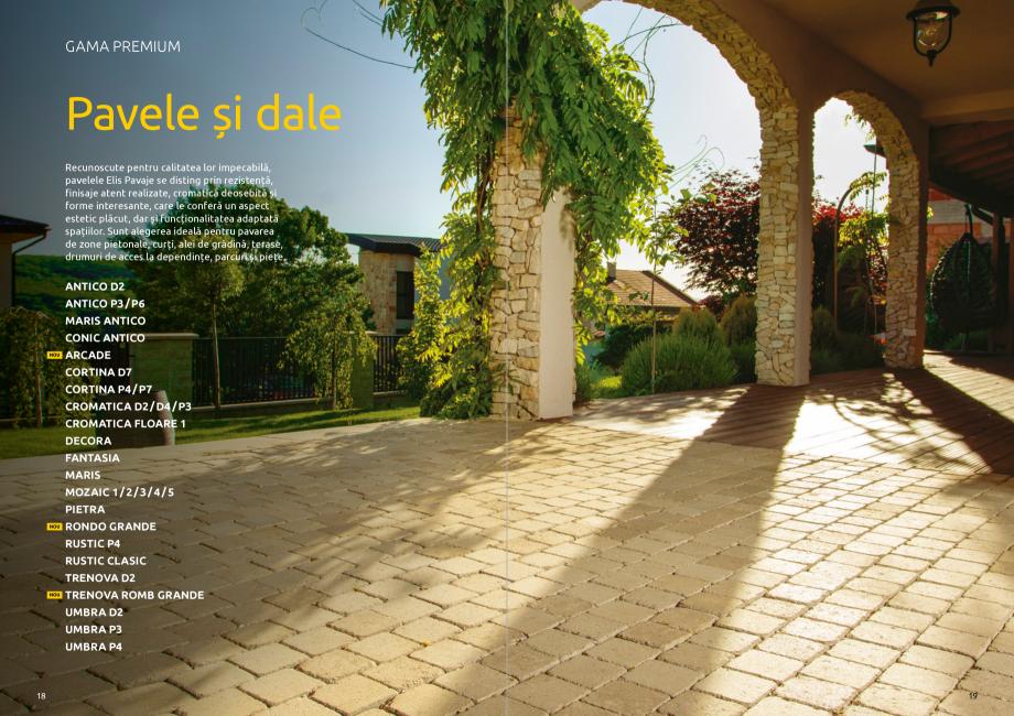 Pagina 11 - Catalog de produse si idei de amenajare 2020-2021  - Rigole din beton compact pentru...