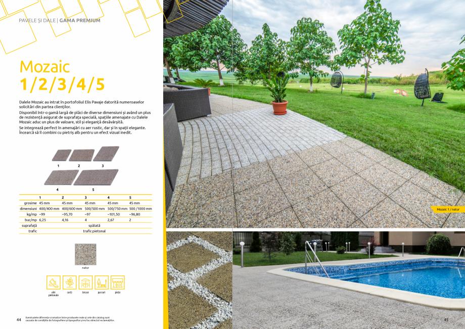 Pagina 24 - Catalog de produse si idei de amenajare 2020-2021  - Rigole din beton compact pentru...
