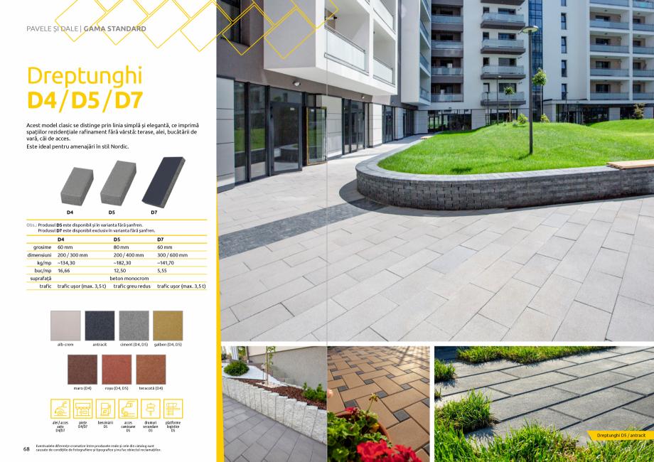 Pagina 36 - Catalog de produse si idei de amenajare 2020-2021  - Rigole din beton compact pentru...