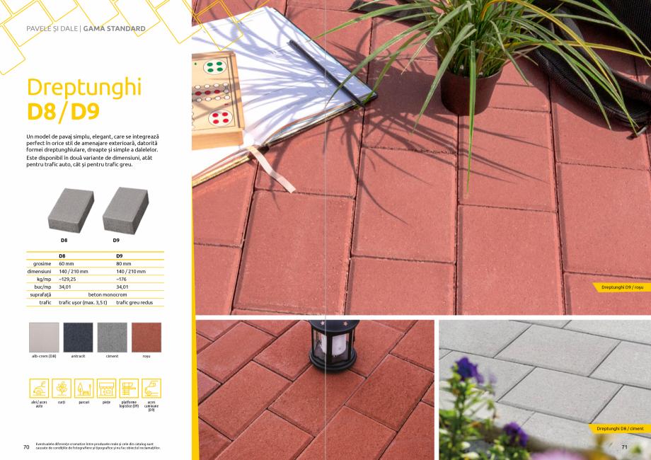 Pagina 37 - Catalog de produse si idei de amenajare 2020-2021  - Rigole din beton compact pentru...