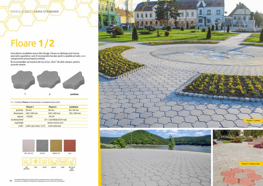 Pagina 40 - Catalog de produse si idei de amenajare 2020-2021  - Rigole din beton compact pentru...
