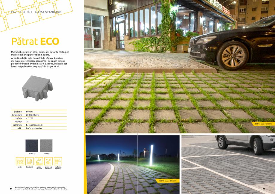 Pagina 44 - Catalog de produse si idei de amenajare 2020-2021  - Rigole din beton compact pentru...