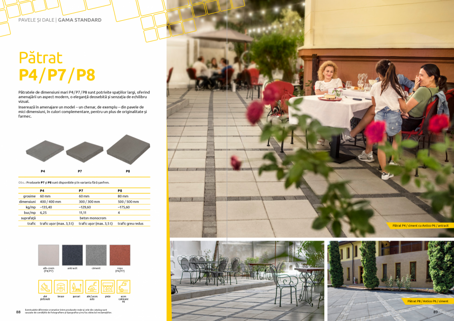 Pagina 46 - Catalog de produse si idei de amenajare 2020-2021  - Rigole din beton compact pentru...