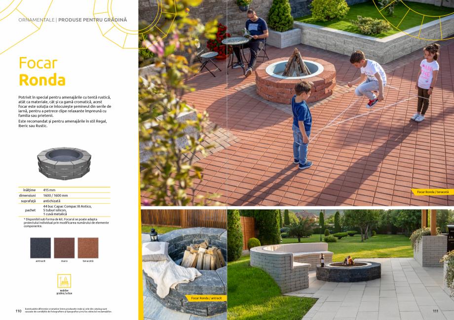 Pagina 57 - Catalog de produse si idei de amenajare 2020-2021  - Rigole din beton compact pentru...