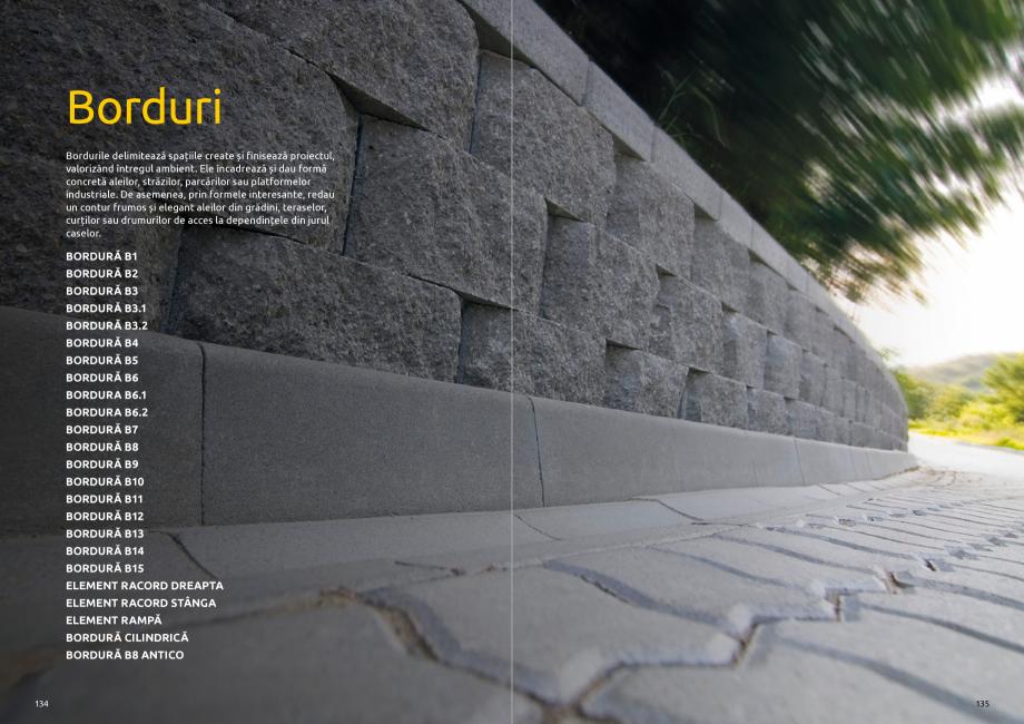 Pagina 69 - Catalog de produse si idei de amenajare 2020-2021  - Rigole din beton compact pentru...
