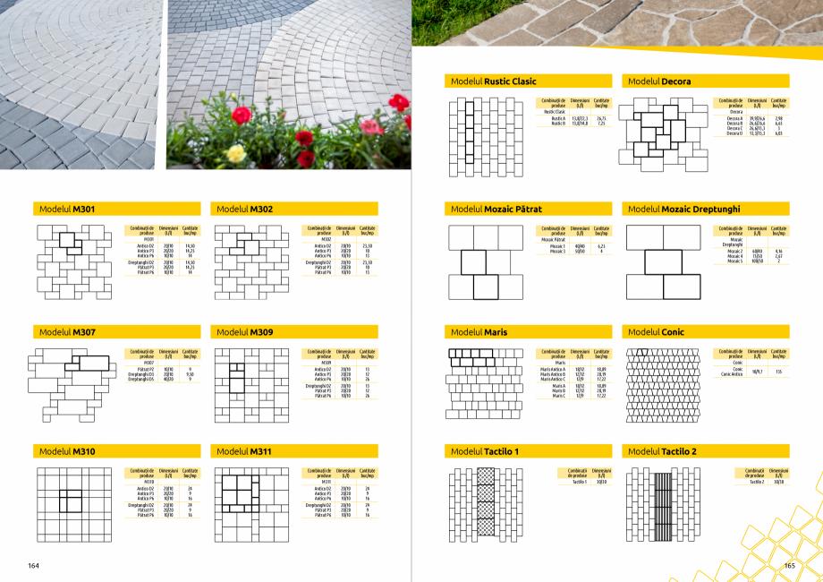 Pagina 84 - Catalog de produse si idei de amenajare 2020-2021  - Rigole din beton compact pentru...