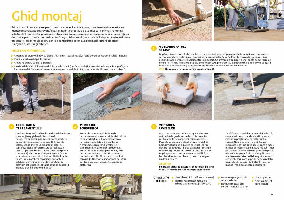 Pagina 87 - Catalog de produse si idei de amenajare 2020-2021  - Rigole din beton compact pentru...