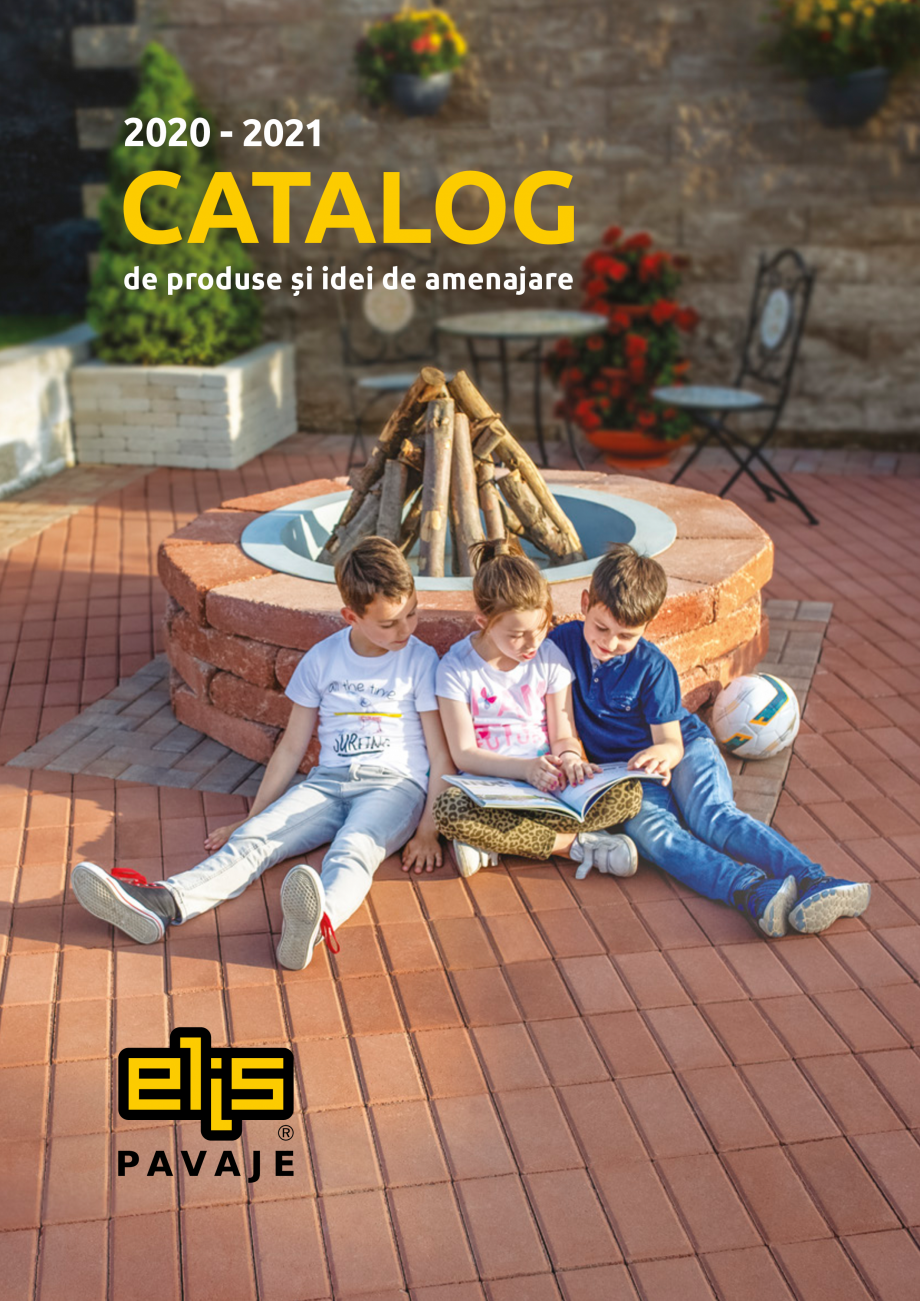Pagina 1 - Catalog de produse si idei de amenajare 2020-2021 - Blocheti si boltari din beton pentru ...