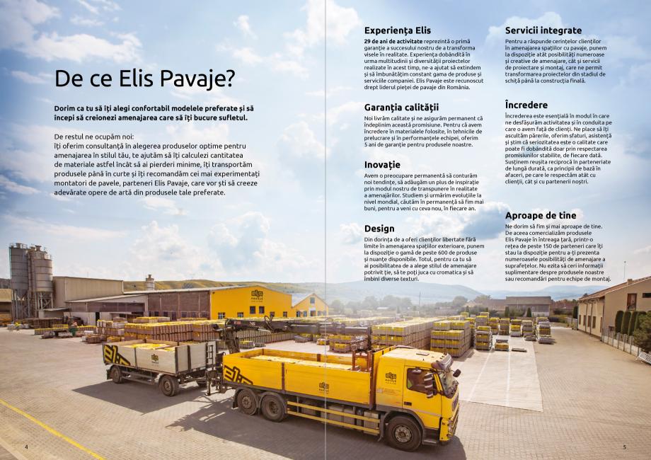 Pagina 4 - Catalog de produse si idei de amenajare 2020-2021 - Blocheti si boltari din beton pentru ...