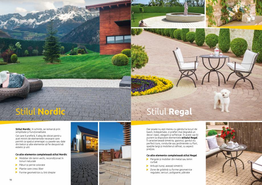 Pagina 7 - Catalog de produse si idei de amenajare 2020-2021 - Blocheti si boltari din beton pentru ...