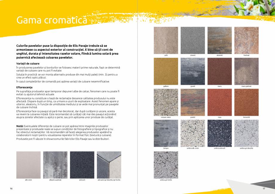 Pagina 10 - Catalog de produse si idei de amenajare 2020-2021 - Blocheti si boltari din beton pentru...