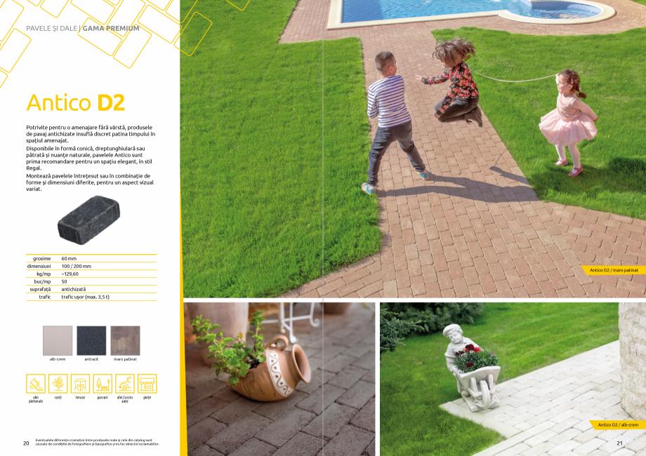 Pagina 12 - Catalog de produse si idei de amenajare 2020-2021 - Blocheti si boltari din beton pentru...